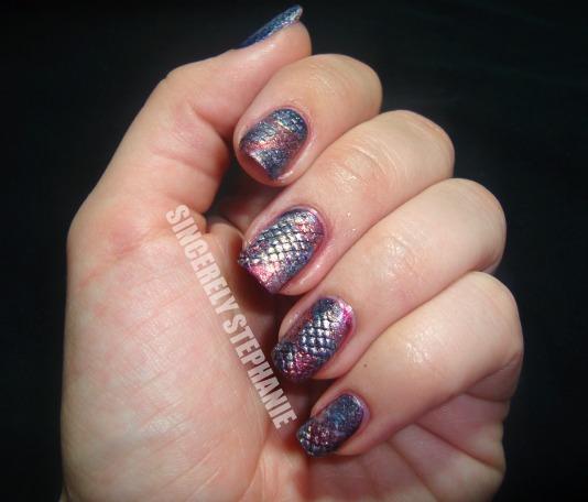 snakeskin-nail-art