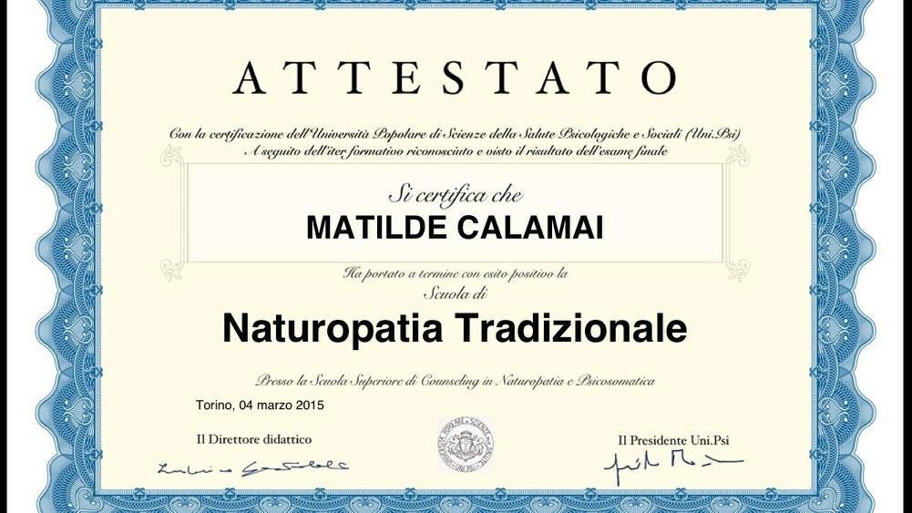 Naturopatia Tradizionale