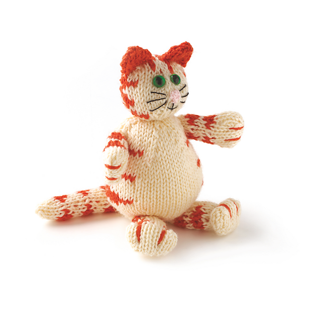 Knitted Cat Pattern : The Knitting Needle and the Damage Done: Being Catty