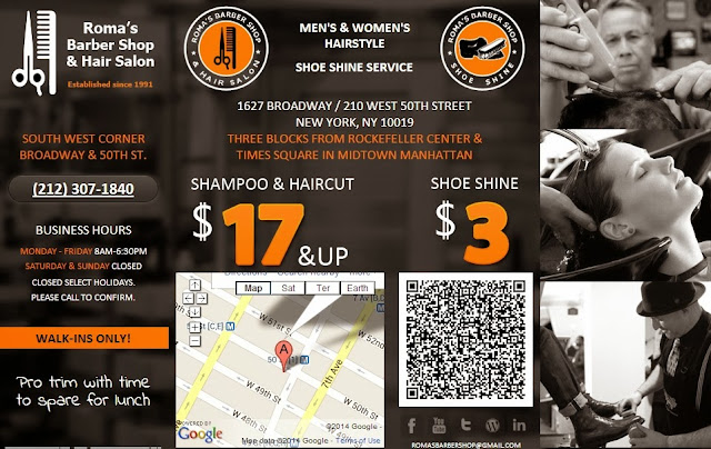 Barber 50th Street NYC