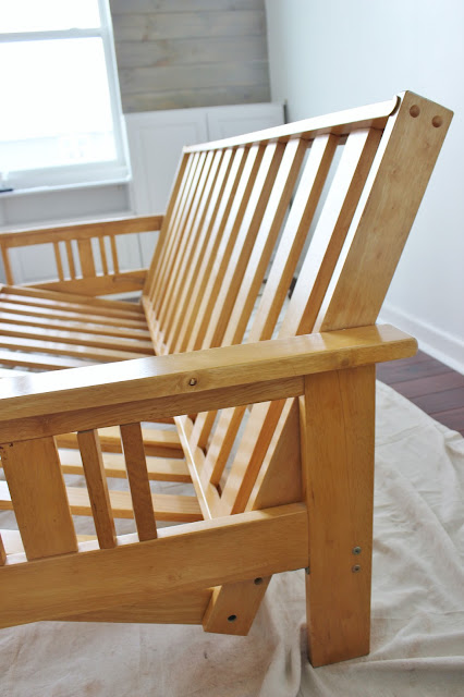"""You Have Got To See The """"After"""" Pics of This Simple Futon Facelift!"""