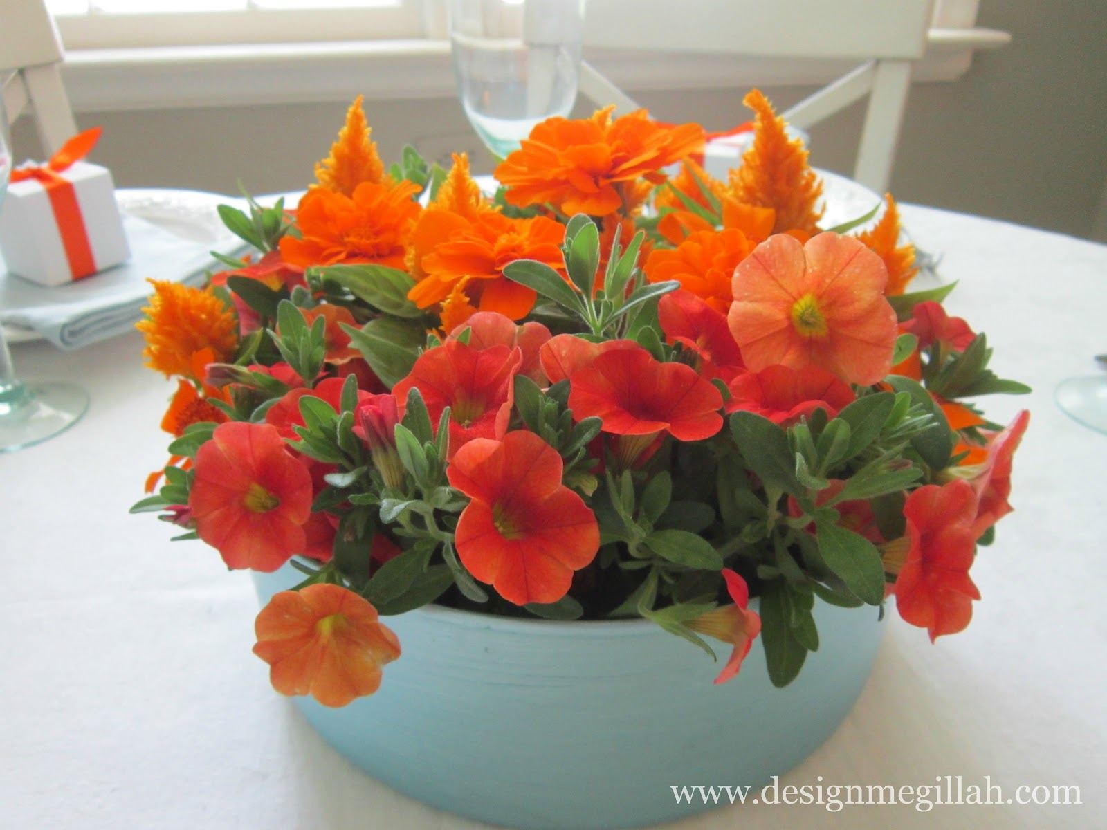Design Megillah June Flowers Birthday Centerpieces