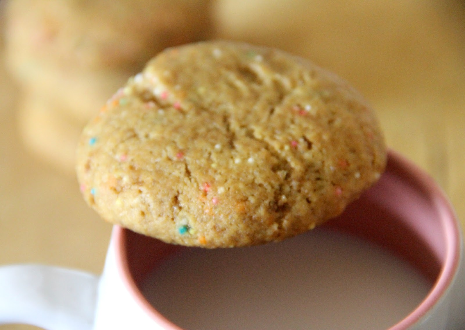 My Happy Place: Browned Butter Funfetti Sugar Cookies