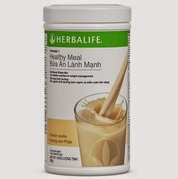 Herbalife F1 Shake – Healthy Meal sữa bột Herblife giảm cân