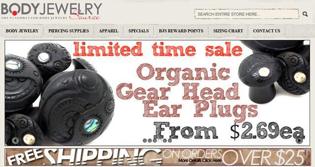 Piercing Supplies from BodyJewelrySource.com