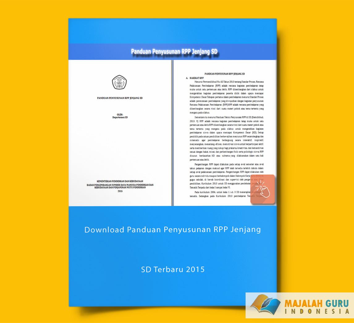 Download Panduan Penyusunan Rpp Jenjang Sd Terbaru 2015 Sisi Edukasi