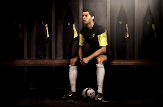Cristiano Ronaldo Waiting for Match HD Wallpaper
