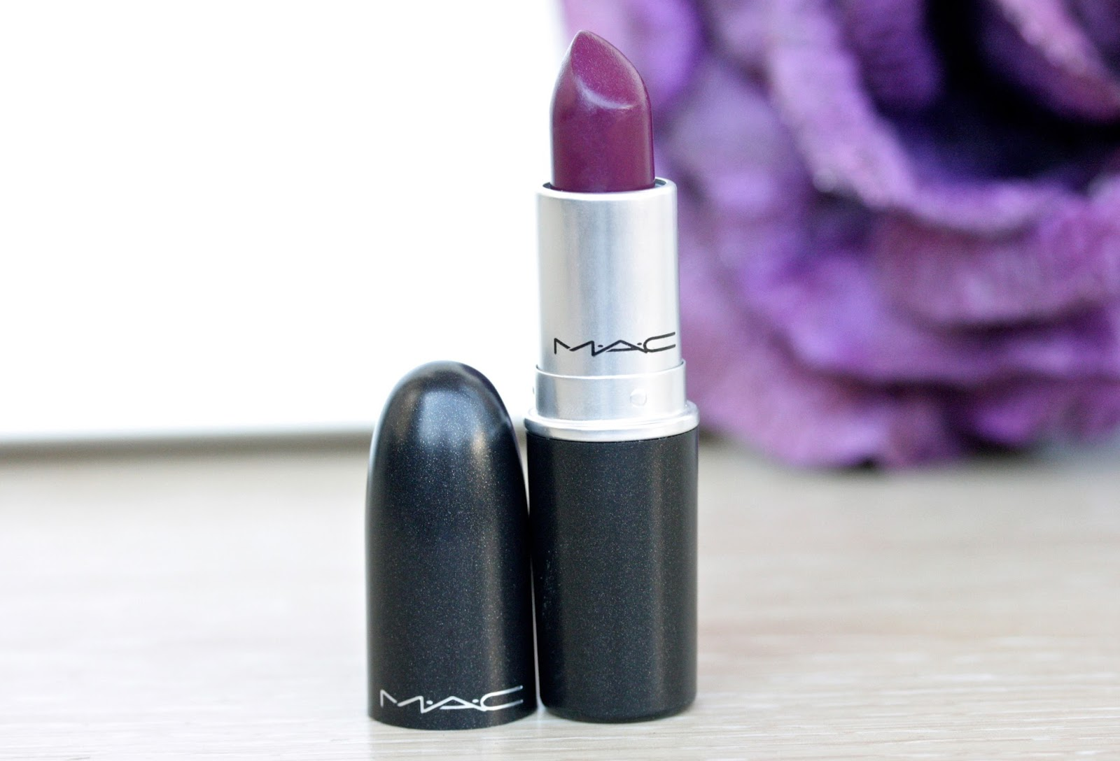 MAC Rebel Lipstick / Review and Swatches | RosyChicc