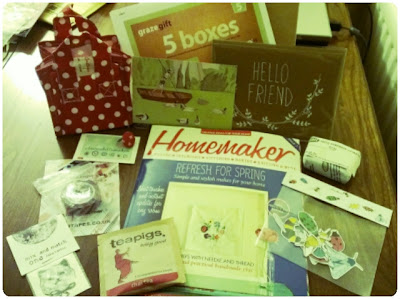 craftypainter: bloggers goody bag