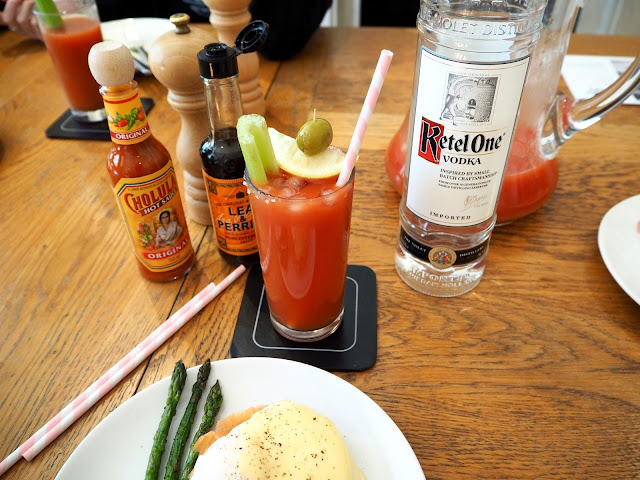 Bloody Mary Brunch with Ketel One Vodka