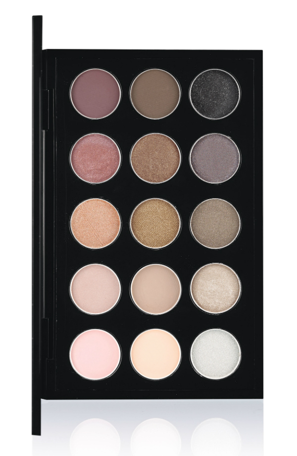 Mac warm neutral and cool neutral 15 eyeshadow palettes for Cool neutral color palette