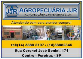 AGROPECUÁRIA JJR EM PEREIRAS SP