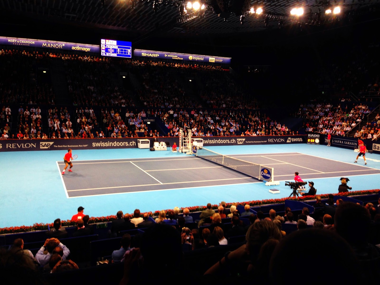 Roger Federer Swiss Indoors