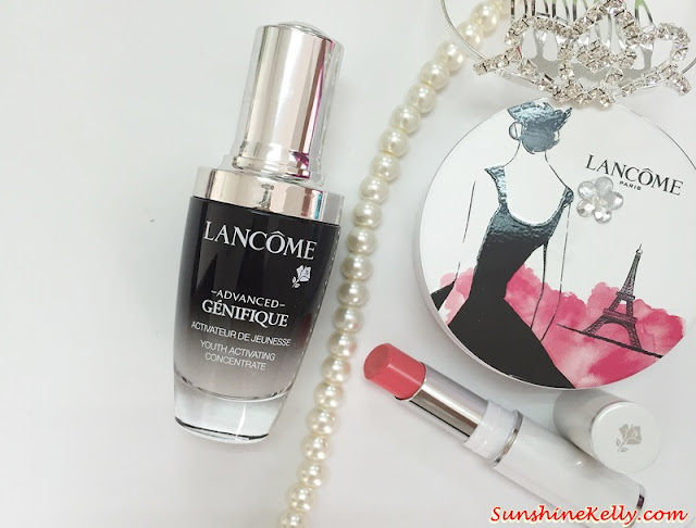 Aura of Youth, Lancome Advanced Genifique Review, Lancome, Advanced Genifique, youth activator, anti aging serum