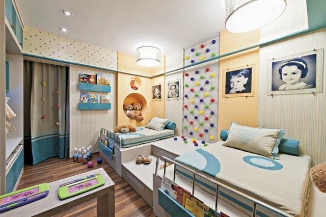 Dormitorios para ni os y ni as decoracion de salas for Dormitorio varon
