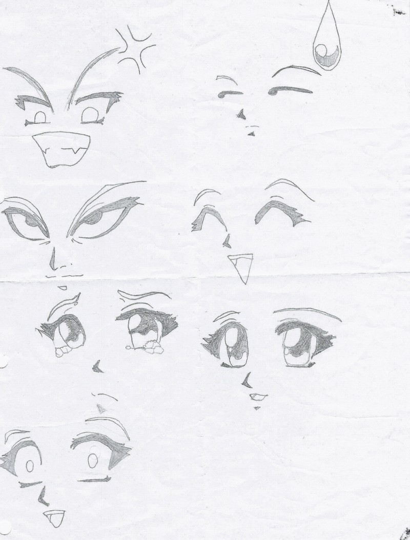 Anime streaming imparare a disegnare manga - Comment dessiner des manga fille ...