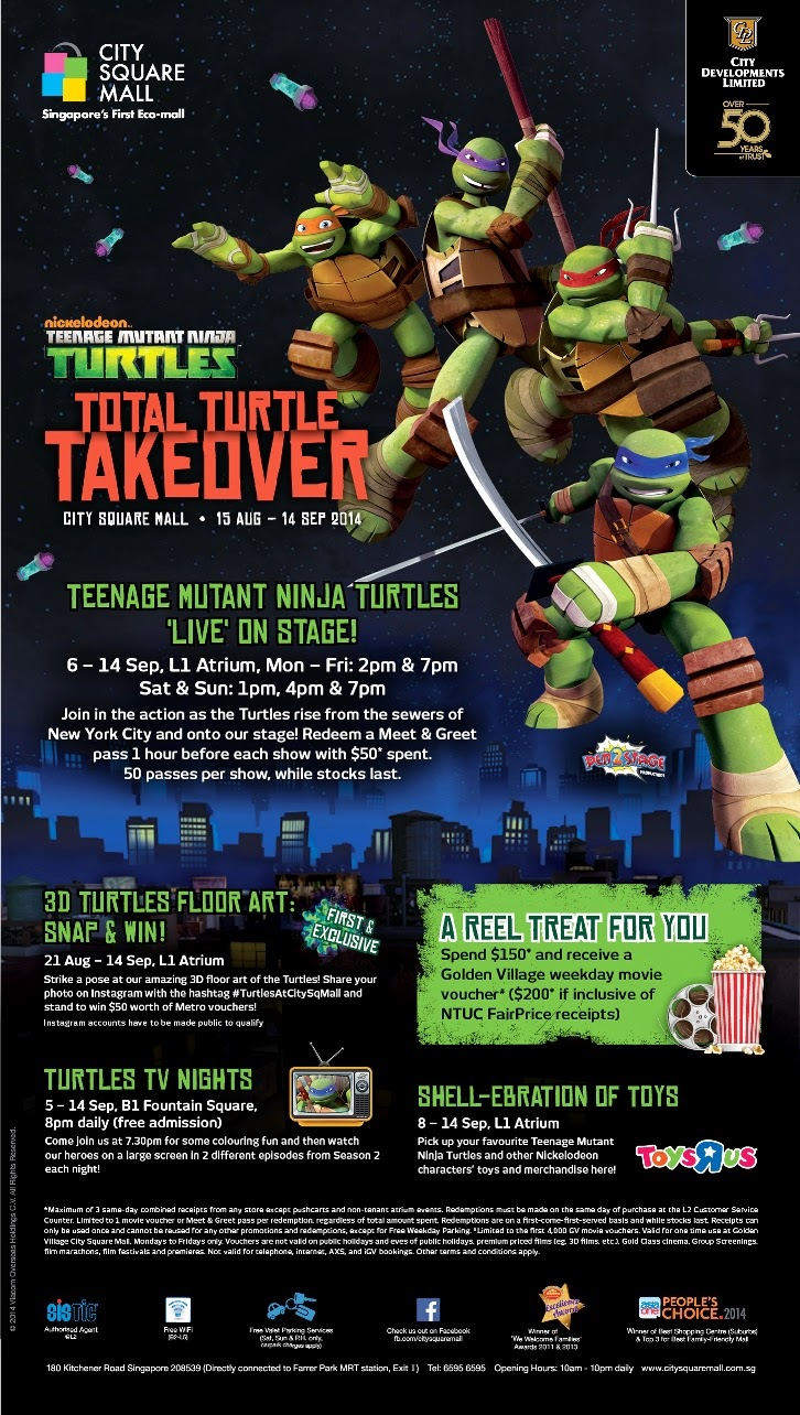 Total Turtle Takover Live Show!