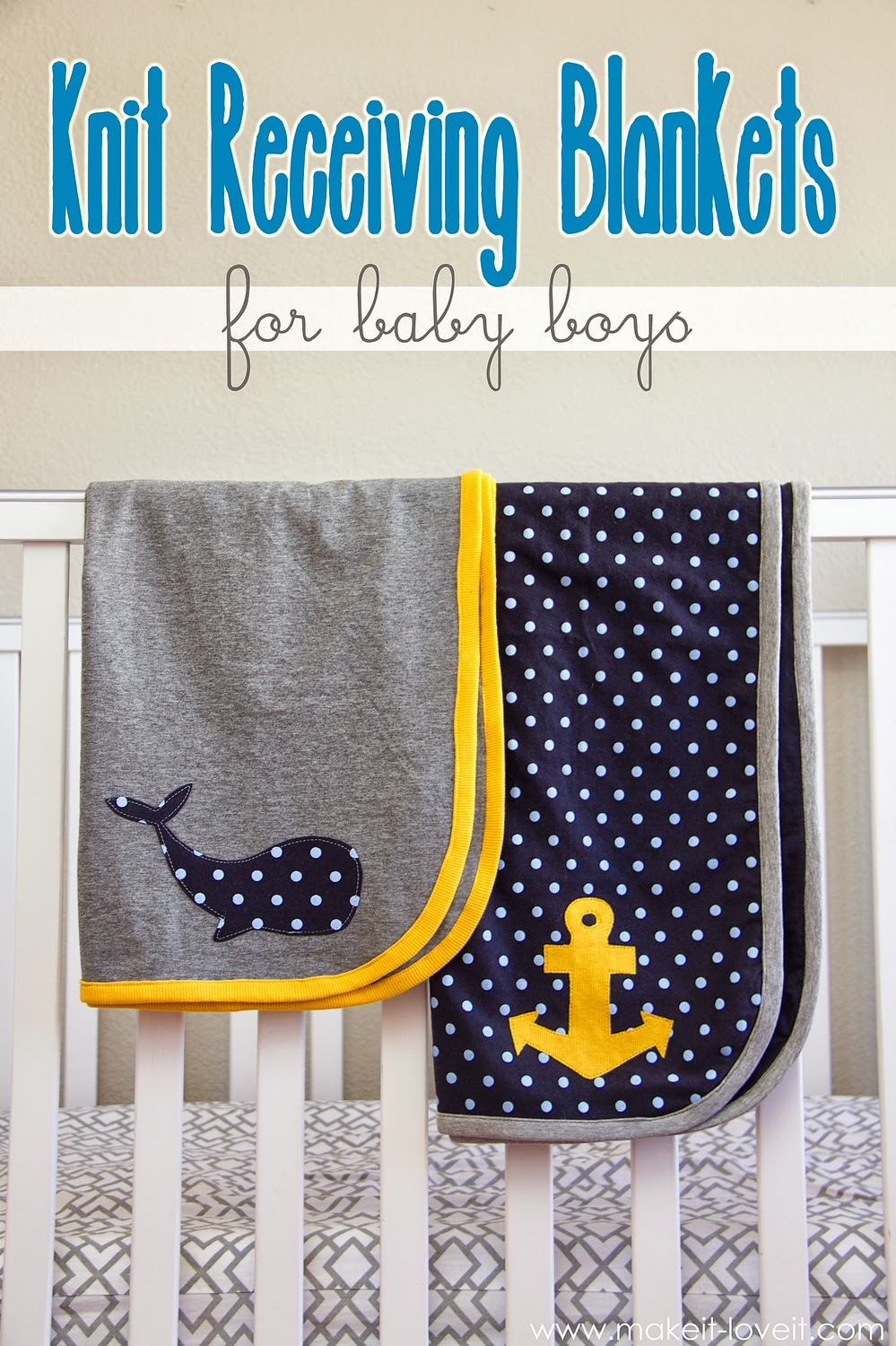 Tutorials for Baby blankets