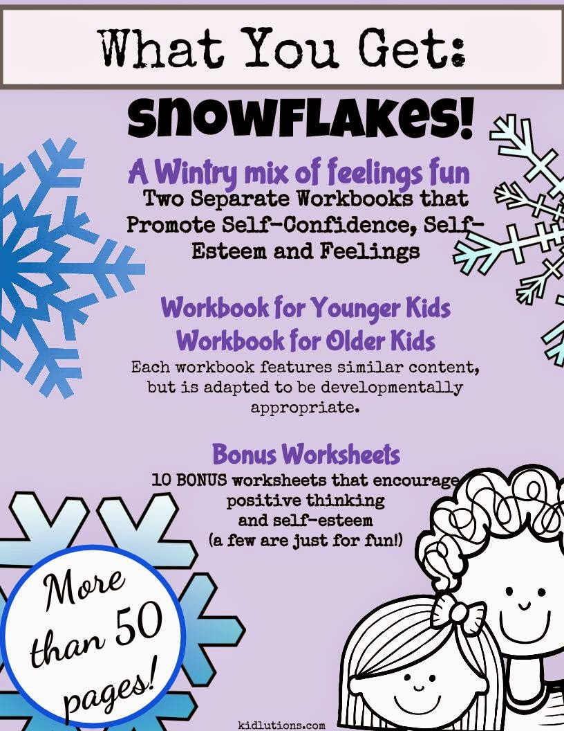 Free Worksheet Confidence Worksheets snowflakes self esteem and confidence a wintry mix of the complete set is