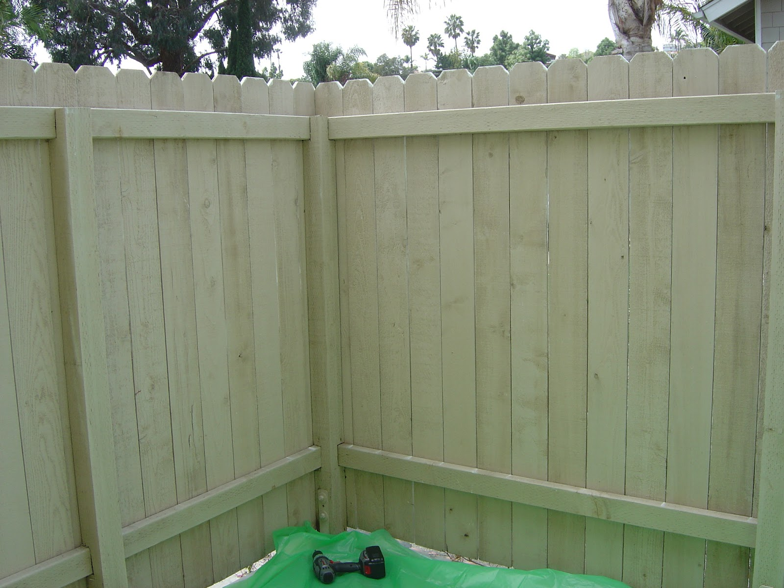 california livin home diy outdoor project phase 1 painting the