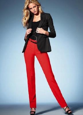 Красные брюки с доставкой