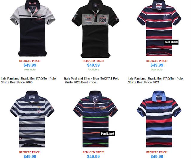 Paul Shark Camiseta Melhor Preço