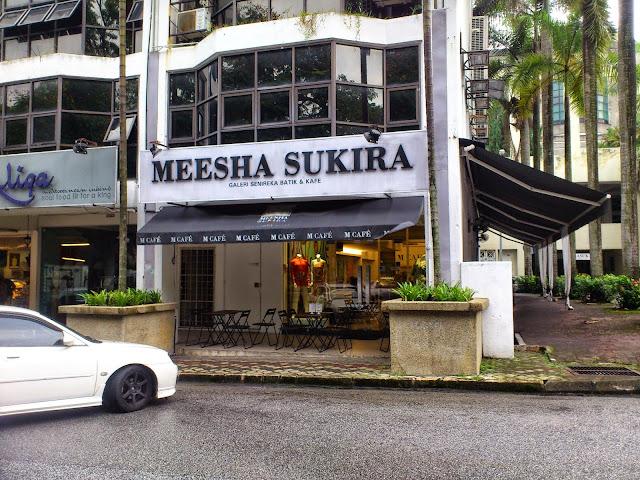 Ramadhan Dining di M Cafe by Meesha Sukira, Plaza Damansara