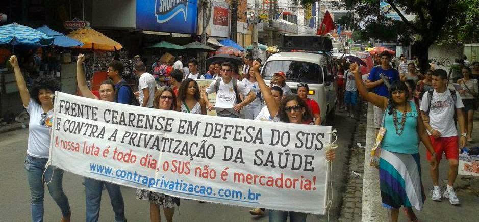 Frente Cearense em Defesa do SUS e Contra a Privatização da Saúde