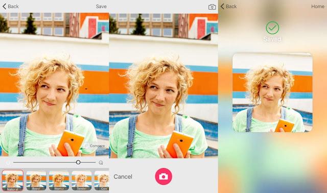 selfie ios microsoft