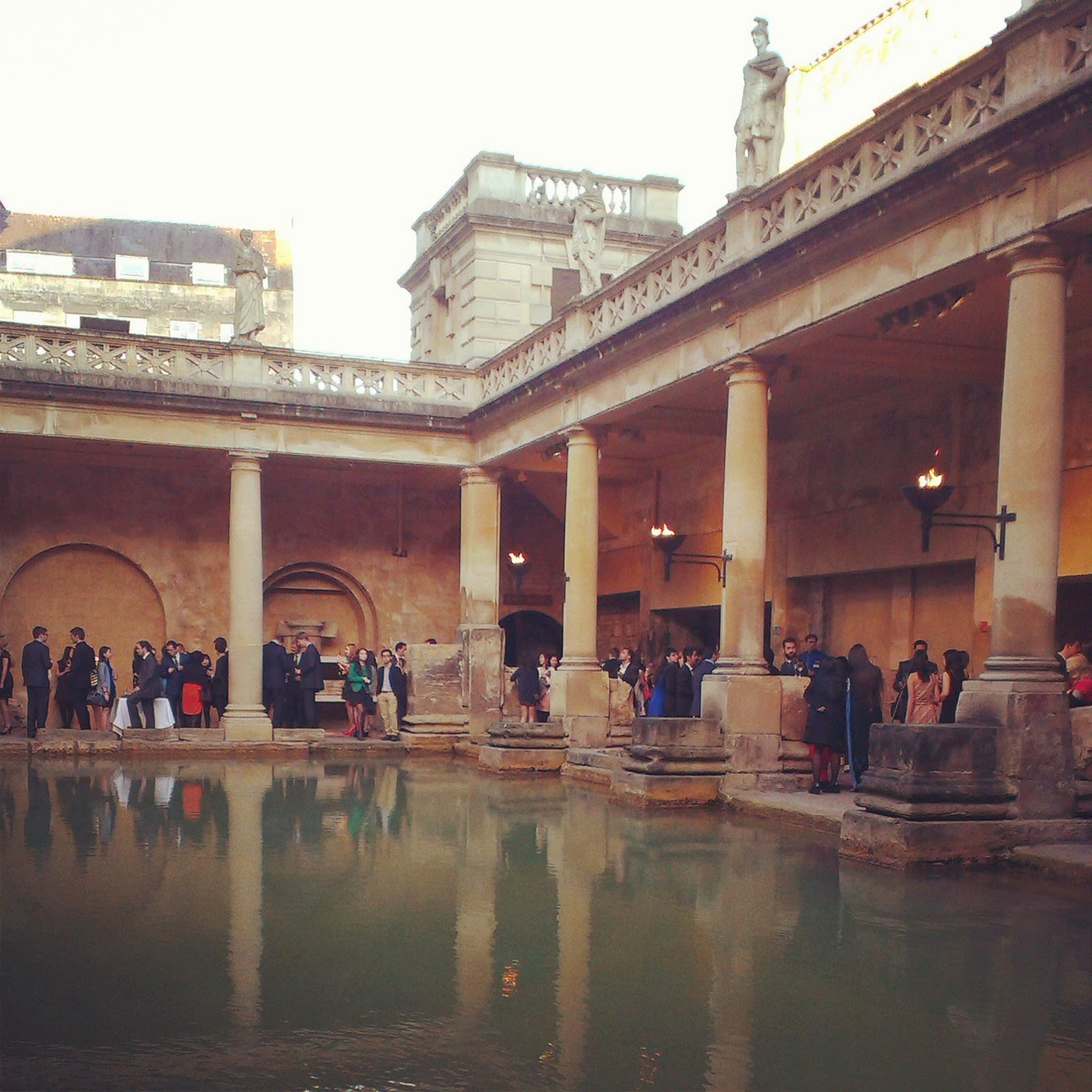 Roman Baths Drinks Reception