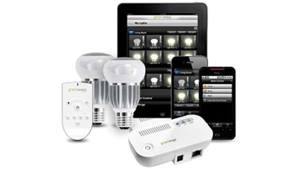 Luces led controladas por wi fi avances tecnol gicos - Luces led para casa ...