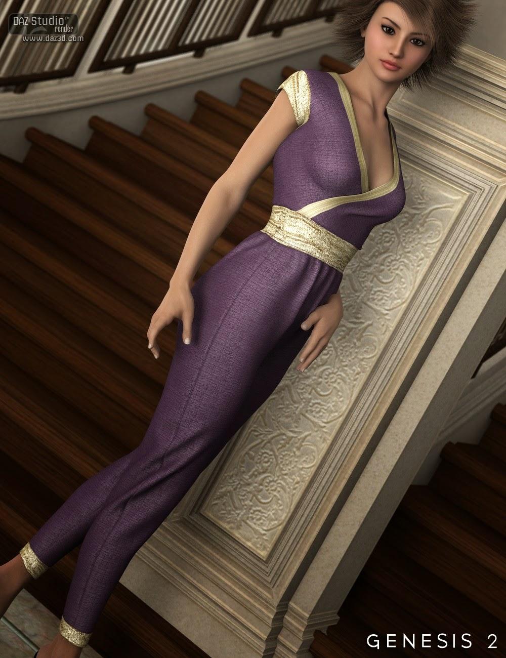 Ashleigh Jumpsuit pour Genesis 2 Femme