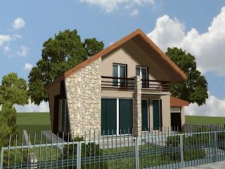 proiecte de case pentru terenuri mici.