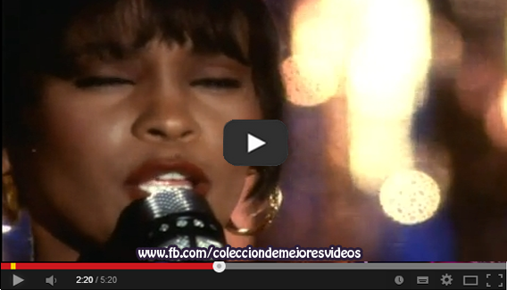 Vídeo Musical, El guardaespaldas, Whitney Houston