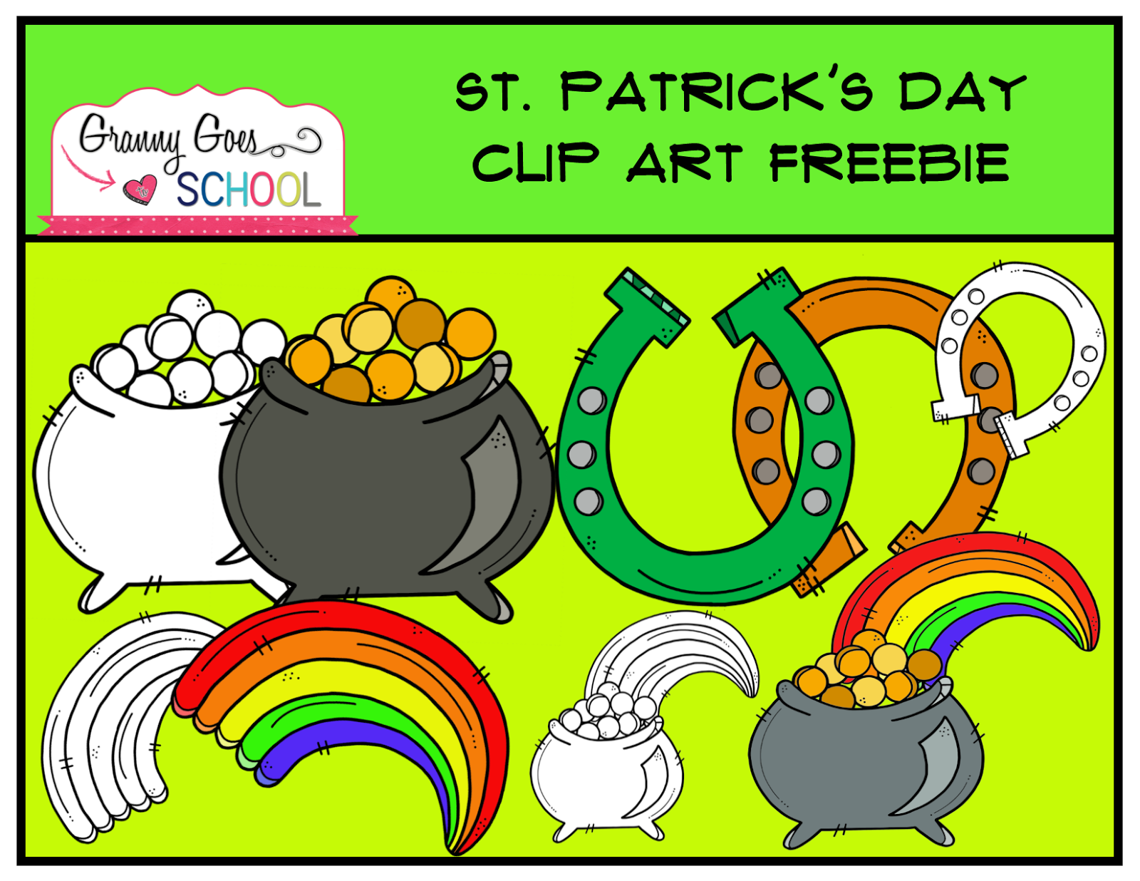 https://www.teacherspayteachers.com/Product/St-Patricks-Day-Clip-Art-FREEBIE-1742807