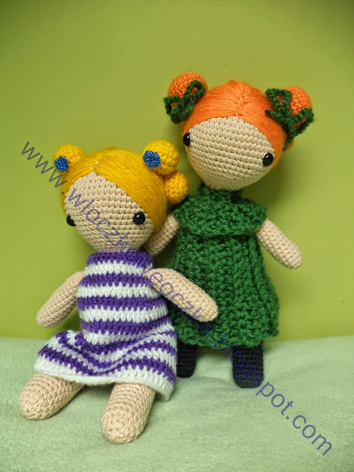 lalki Magic dolls z opisem wykonania
