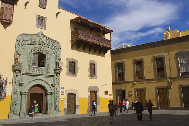 The Casa de Colón in Vegueta, Gran Canaria
