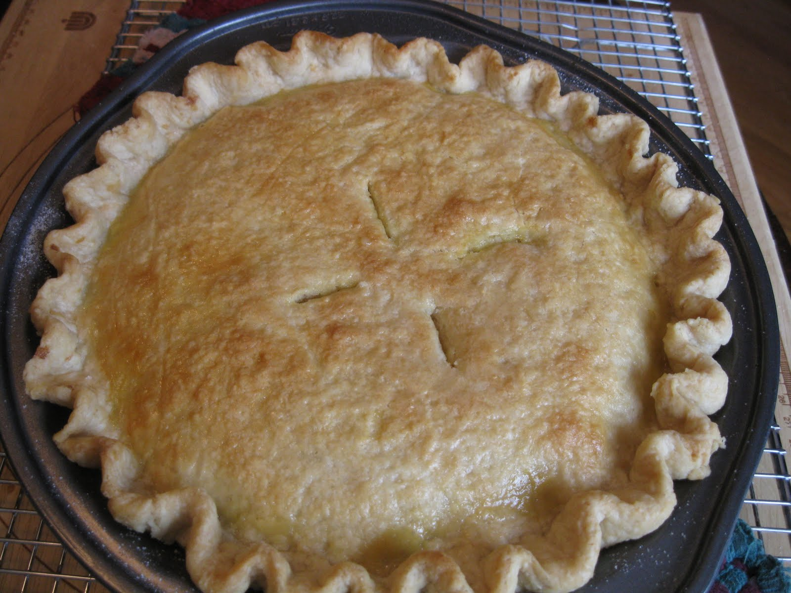 Baking Outside the Box: Flaky Pie Crust