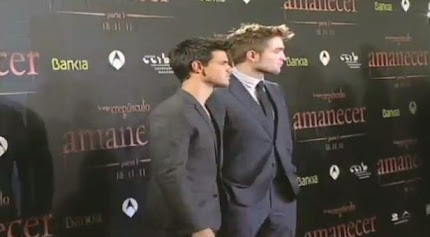 Premiere in Barcelona España de Breaking Dawn part 1