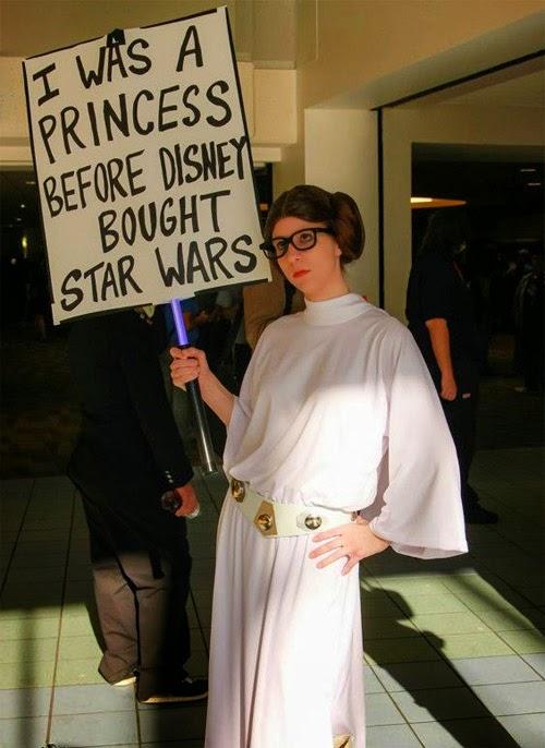 Hipster Princess Leia