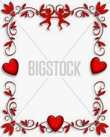 Happy Valentines Day Borders Happy valentines day borders
