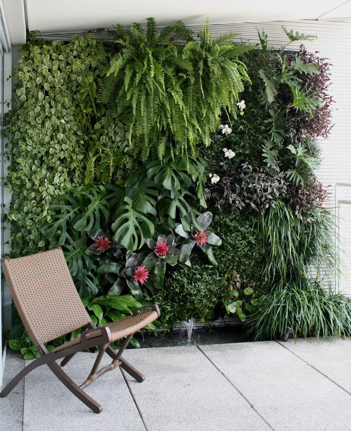 plantas jardim vertical meia sombra : plantas jardim vertical meia sombra:jardim vertical em varandas pequenas