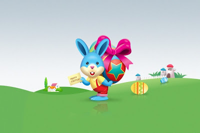 Android Easter wallpaper