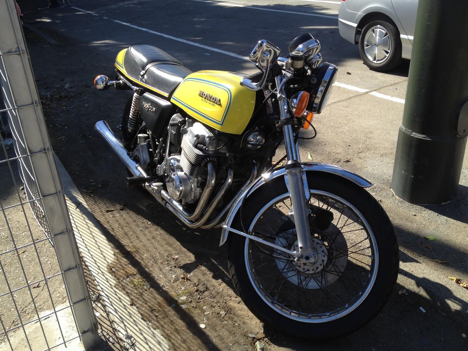 1970s Honda CB750 SuperSport   Dead Smurf Racing