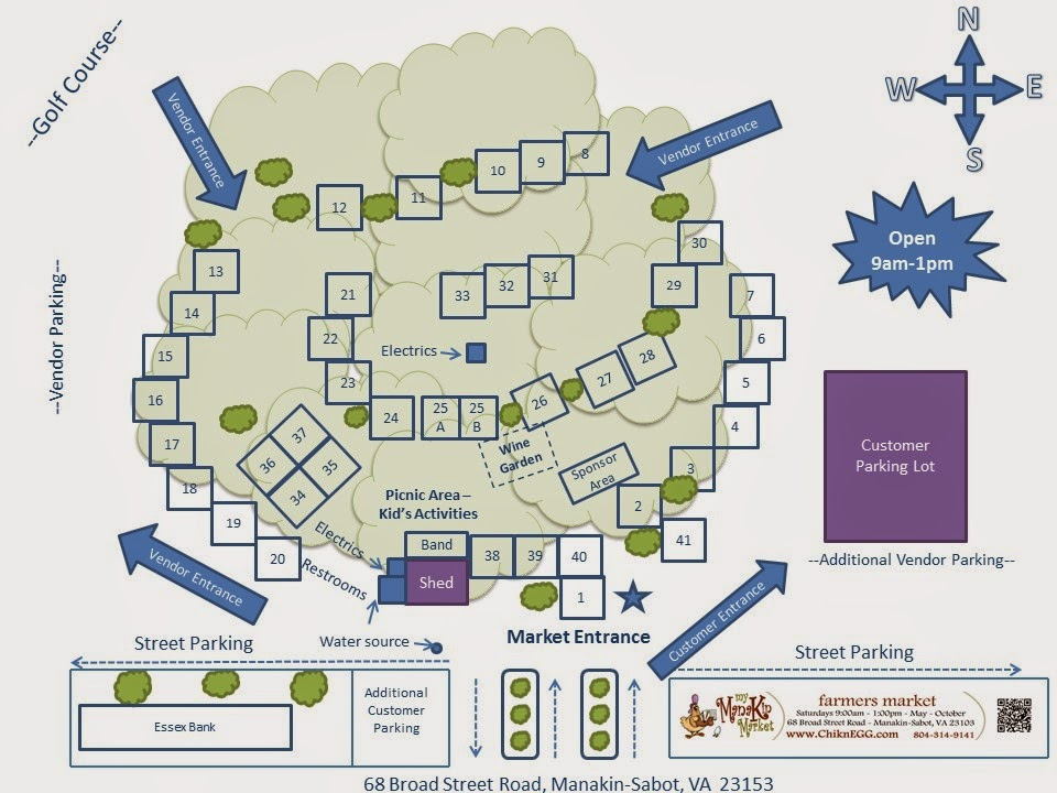 ChikneGG's Interactive Market Maps let customers find their favorite vendors at our markets!