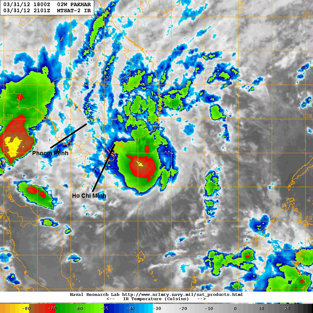 infra red image above shows the central dense overcast continues to flare up however the system is now looking ragged and microwave images also show