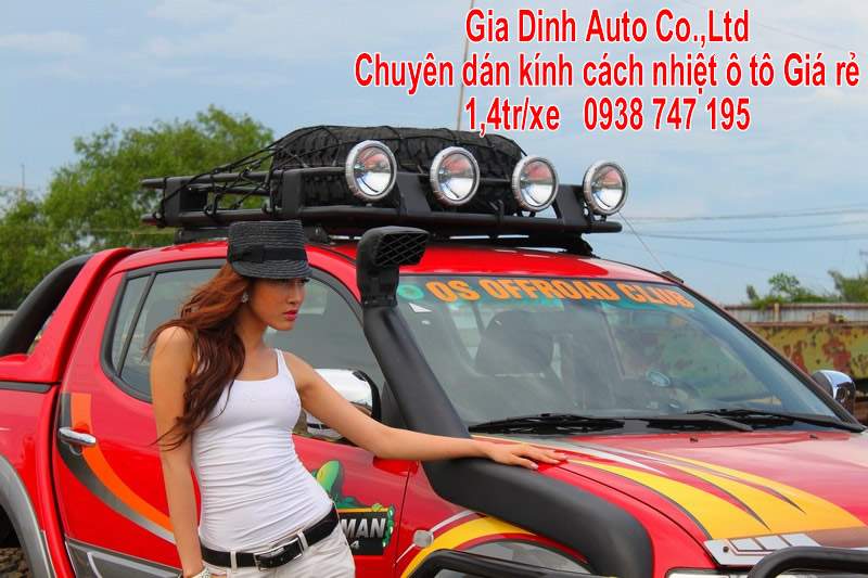Dán Kính ô tô Tân Phú
