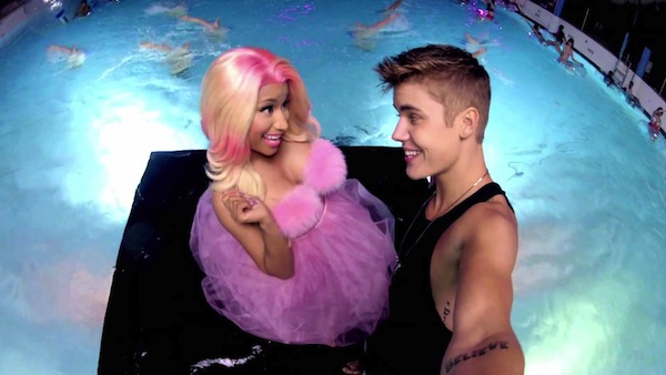High_extrem_water_park_when_shootin_beauty_and_a_beat_with_nicki_minaj_justin bieber