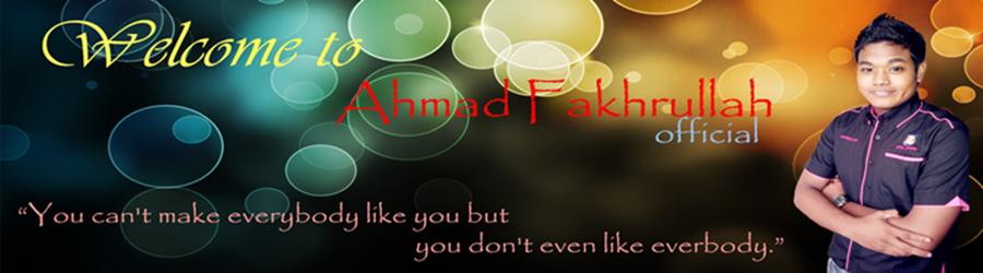 Ahmad Fakhrullah Bin Adli