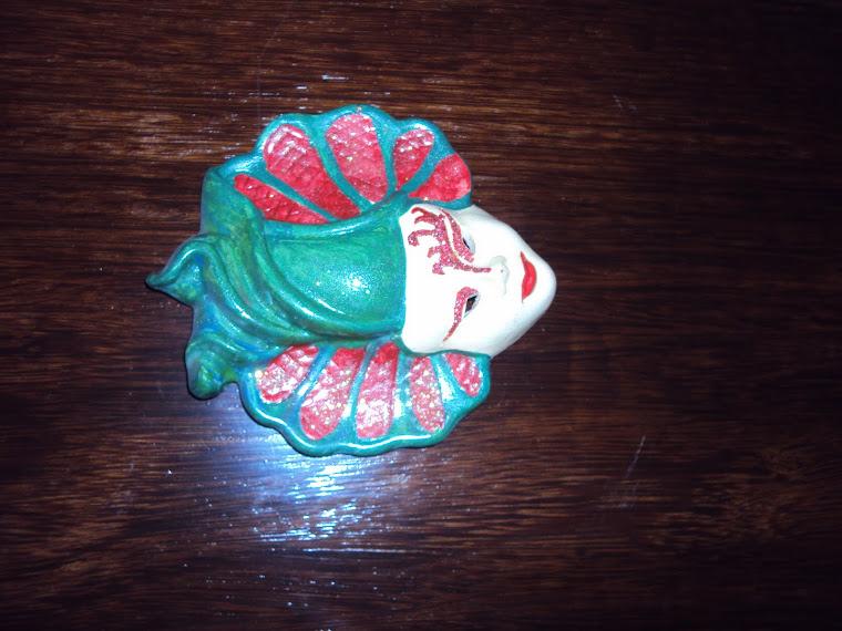 Máscara de Cerâmica